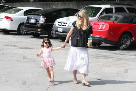 Editorial image of Sarah Michelle Gellar out and about, Los Angeles, America - 25 Aug 2012