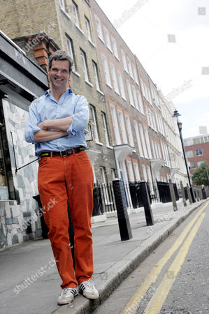 Editorial picture of Ben Pentreath at his shop, The English House, Rugby Street, London, Britain - 09 Jul 2009