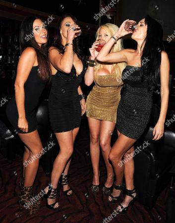 Kirsten Price, Nicki Hunter, Candy Manson, and Alektra Blue