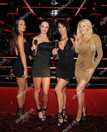 Kirsten Price, Alektra Blue, Nicki Hunter, and Candy Manson