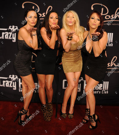 Alektra Blue, Kirsten Price, Candy Manson, and Nicki Hunter