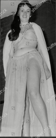 Actress Sally Nesbitt In 'the Brides Of March' In The West End.