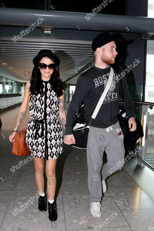 Cher Lloyd and fiance Craig Monk