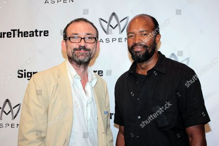 Stock Photo of Ritchie Coster and Leon Addison Brown