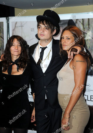 Stock Photo of Sylvie Verheyde, Pete Doherty and Karole Rocher