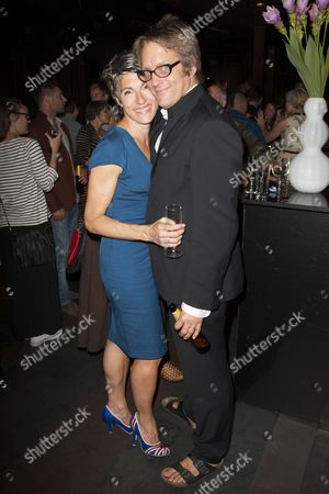 Tamsin Greig (Hilary) and Richard Leaf