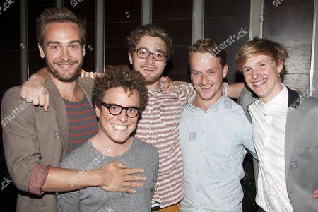 Tom Mison, Joshua McGuire, Edward Killingback, Jolyon Coy and Harry Lister Smith