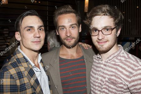 Editorial picture of 'Jumpy' play press night after party, London, Britain - 28 Aug 2012