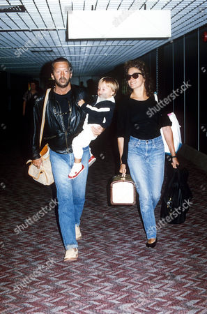 ERIC CLAPTON AND LORY DEL SANTO AND SON CONOR