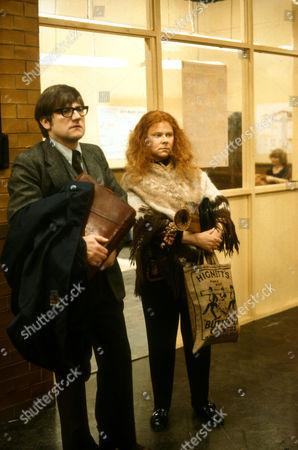 Neville Smith as Hopkins and Carol MacReady as Wendy