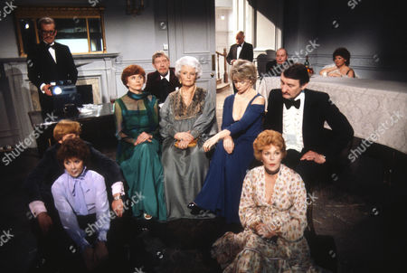 Stock Image of John Moffatt as George, Martyn Jacobs as Peter and Jenny Quayle as Sue, Isabel Dean as Betty, Valentine Dyall as Oscar, Elspeth March as Totty, Jill Bennett as Stella, Rachel Roberts as Pauline and Peter Jeffrey as Rufus