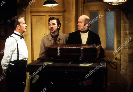 John Moffatt as George, Frank Grimes as Glyn and Philip Stone as Harold