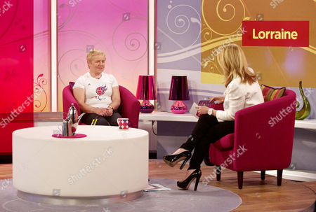 Editorial photo of 'Lorraine Live' TV Programme, London, Britain. - 29 Aug 2012