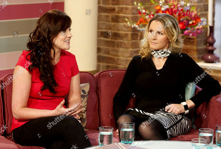 Rachael Latham and Claire Lomas
