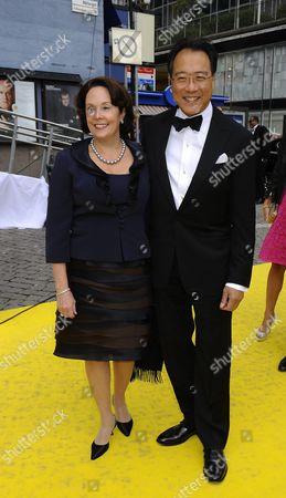 Jill Hornor Ma and Yo-Yo Ma