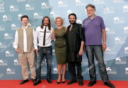 Matt Reeves, Bob Sinclar, Isabella Ferrari, Shekhar Kapur and Michel Demopoulos