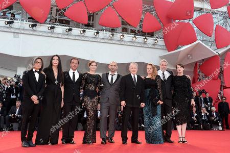 The jury: Marina Abramovic, Matteo Garrone, Ari Folman, Pablo Trapero, Laetitia Casta, Michael Mann, Ursula Meier, Peter Ho-Sun Chan and Samantha Morton