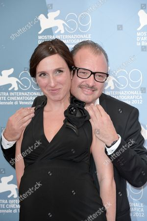 Anne Paulicevich and director Frederic Fonteyne
