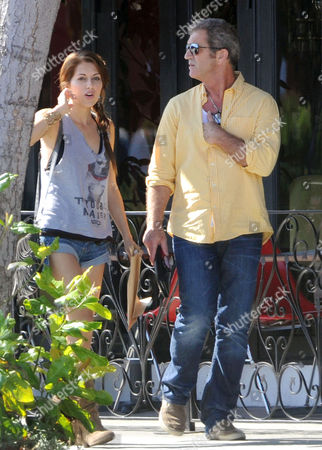 Stock Picture of Nadia Lanfranconi and Mel Gibson