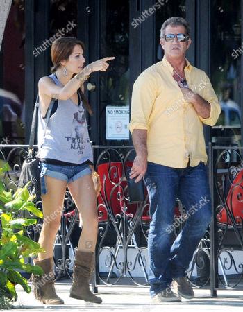 Nadia Lanfranconi and Mel Gibson