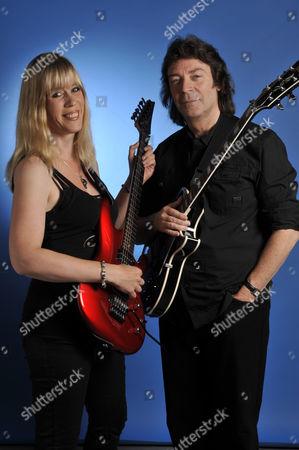 Editorial image of Steve Hackett And Amanda Lehmann Portrait Shoot - August 2011