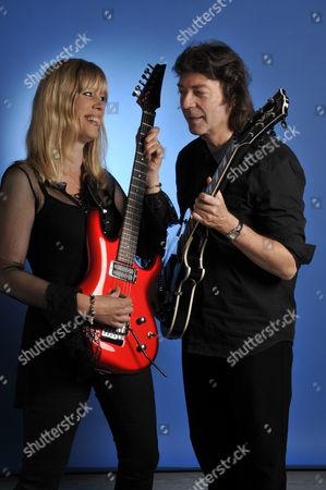 Editorial photo of Steve Hackett And Amanda Lehmann Portrait Shoot - August 2011