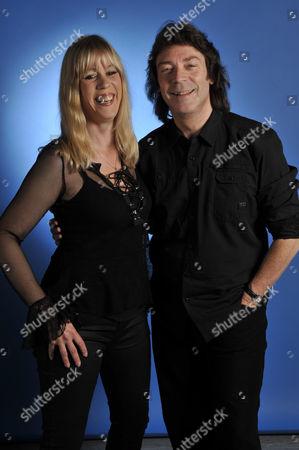 Editorial picture of Steve Hackett And Amanda Lehmann Portrait Shoot - August 2011
