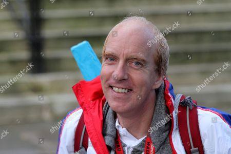Paralympian cyclist Simon Richardson