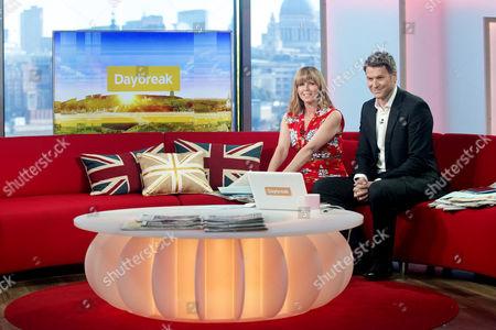 Kate Garraway and Dan Lobb