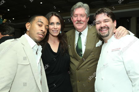 Stock Photo of Ludacris, Laura Cunningham, Edward Herrmann and Rory Herrmann