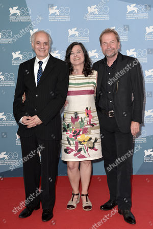 Nabil Saleh, Maria Hofstatter and director Ulrich Seidl