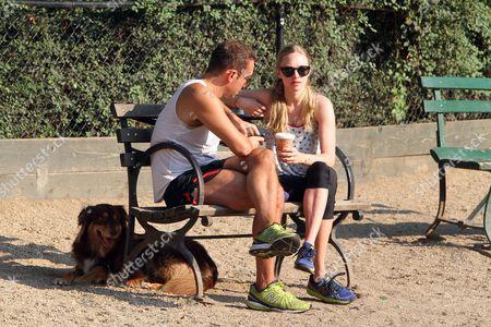 Desmond Harrington and Amanda Seyfried