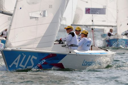Editorial image of The London 2012 Paralympic Games, Sailing, Portland, Dorset, Britain - 01 Sep 2012