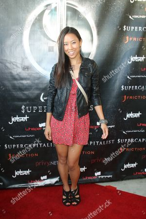 Editorial image of 'Supercapitalist' film premiere, Los Angeles, America - 31 Aug 2012