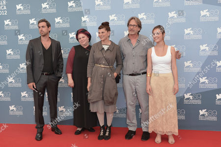 Stock Image of Yiftach Klein, Hadas Yaron,the director Rama Burshtein, Irit Sheleg,the productor Assaf Amir