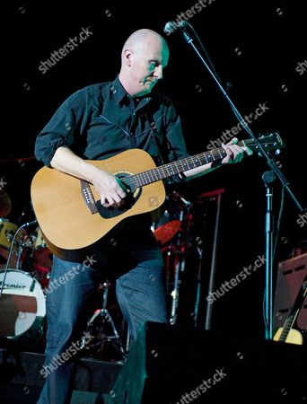 London United Kingdom - March 16: Rob Allen Of English Progressive Rock Band Jebo Performing On Stage At The Hammersmith Apollo March 16