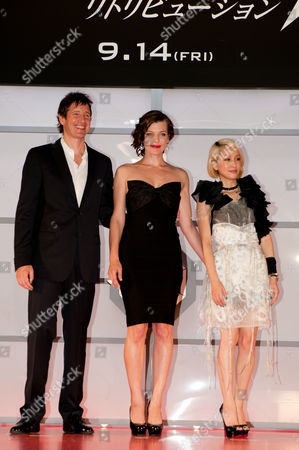 Milla Jovovich, Paul W.S. Anderson, Mika Nakashima