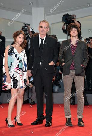 Lola Creton, Olivier Assayas and Clement Metayer