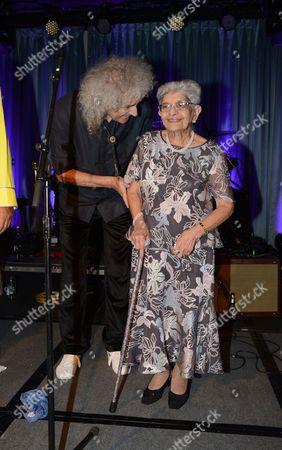 Stock Image of Brian May and Jer Bulsara