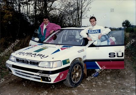 Rally Driving With Ronan Morgan And Derek Warwick The Racing Driver.