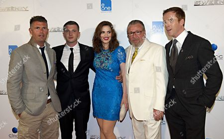 Nick Love, Ben Drew, Hayley Atwell, Ray Winstone and Damian Lewis