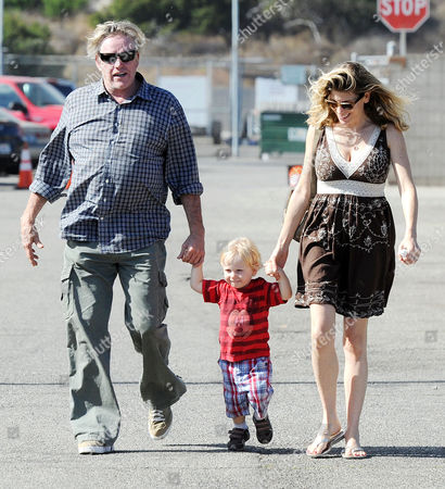 Editorial photo of Gary Busey and family out and about in Malibu, California, America - 03 Sep 2012