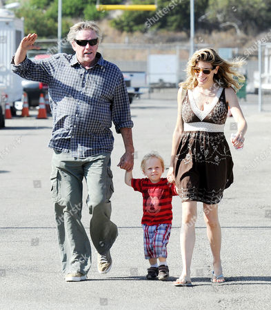 Gary Busey, Steffanie Sampson and son Luke