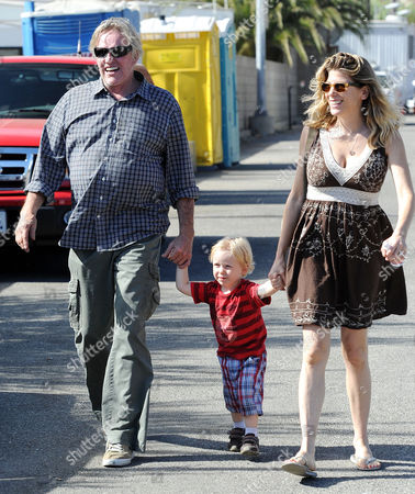 Editorial picture of Gary Busey and family out and about in Malibu, California, America - 03 Sep 2012