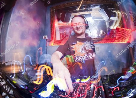 Stock Picture of DJ Graham Sahara