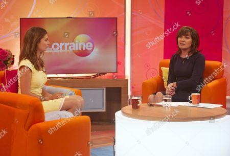 Editorial image of 'Lorraine Live' TV Programme, London, Britain. - 04 Sep 2012