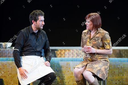 'Ghost Patrol' -  Nicholas Sharratt (as Sam) and Jane Harrington (as Vicky).