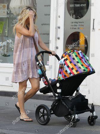 Kate Hudson and baby son Bingham Hawn Bellamy
