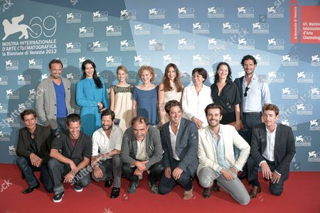 Stock Photo of Linhas de Welligton, Soraia Chaves, Victoria Guerra, Marisa Paredes, Elsa Zylberstein, director Valeria Sarmiento, Carloto Cotta, Nuno Lopes, Melvil Poupaud, Marcello Urgeghe, Vincent Perez, Paulo Branco and other cast