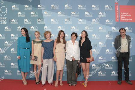 Soraia Chaves, Victoria Guerra, Marisa Paredes, Elsa Zylberstein, director Valeria Sarmiento and Paulo Branco